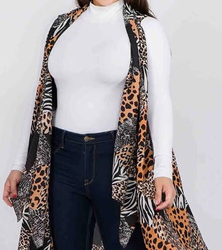RESTOCKED! Plus Size Camel Vest