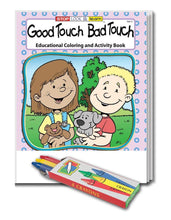 Load image into Gallery viewer, 25 Pack - Good Touch Bad Touch Kid's Educational Coloring & Activity Books - ZoCo Products