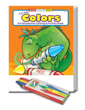 Load image into Gallery viewer, 25 Pack - Fun With Colors Kid's Educational Coloring & Activity Books - ZoCo Products