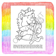 Load image into Gallery viewer, 25 Pack - Mom's Having A Baby Kid's Coloring & Activity Books - ZoCo Products