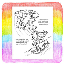 Load image into Gallery viewer, 25 Pack - Exercise Can Be Fun Kid's Coloring & Activity Books - ZoCo Products