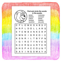 Load image into Gallery viewer, 25 Pack - My Favorite Bank Kid's Educational Coloring & Activity Books - ZoCo Products