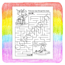 Load image into Gallery viewer, 25 Pack - We All Need Insurance Kid's Coloring & Activity Books - ZoCo Products