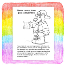 Load image into Gallery viewer, 25 Pack - Practice Fire Safety Kid's Coloring & Activity Books in Bulk - Spanish Version - ZoCo Products
