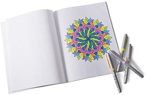 Safety Magnets Patterns, Stress Relieving Adult Coloring Book