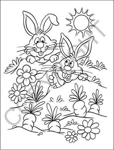 25 Pack - Springtime Friends Kid's Coloring & Activity Books - ZoCo Products