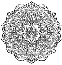 Load image into Gallery viewer, Patterns Coloring Book for Adults & Kids - 24 Intricate Patterns