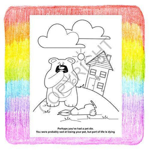 25 Pack - Losing a Loved One Kid's Coloring & Activity Books - ZoCo Products