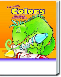 25 Pack - Fun With Colors Kid's Educational Coloring & Activity Books - ZoCo Products