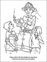 Load image into Gallery viewer, 25 Pack - Fire Safety Kid's Educational Coloring & Activity Books - ZoCo Products