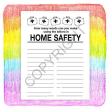 Load image into Gallery viewer, 25 Pack - Home Safety Kid's Educational Coloring & Activity Books - ZoCo Products