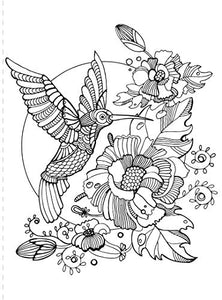 Safety Magnets Coloring Book for Adults and Kids - ZenDoodle: 24 Beautiful Floral, Geometric and Animal Designs