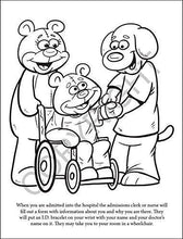 Load image into Gallery viewer, 25 Pack - A Beary Special Hospital Kid's Coloring & Activity Books - ZoCo Products
