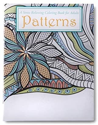 Patterns Coloring Book for Adults & Kids - 24 Intricate Patterns