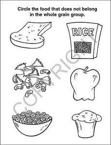 25 Pack - Let's Practice Good Nutrition Kid's Coloring & Activity Books - ZoCo Products