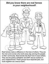 Load image into Gallery viewer, 25 Pack - My Heroes Kid's Educational Coloring & Activity Books - ZoCo Products