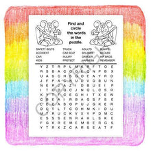 Load image into Gallery viewer, 25 Pack - Buckle up for Safety - Kid's Educational Coloring & Activity Books - ZoCo Products