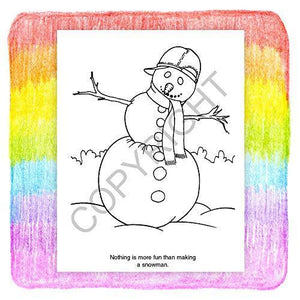 25 Pack - Merry Christmas - Kids Coloring and Activity Books - ZoCo Products