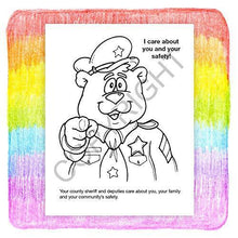 Load image into Gallery viewer, 25 Pack - Your Sheriff is Your Friend Kid's Coloring & Activity Books - ZoCo Products