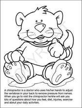 Load image into Gallery viewer, 25 Pack - A Visit to The Chiropractor Kid's Coloring & Activity Books - ZoCo Products