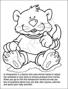 25 Pack - A Visit to The Chiropractor Kid's Coloring & Activity Books - ZoCo Products