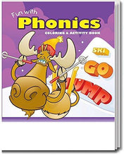 Load image into Gallery viewer, 25 Pack - Fun With Phonics Kid's Educational Coloring & Activity Books - ZoCo Products