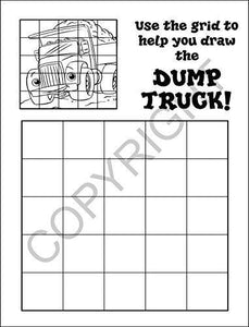 25 Pack - Tons of Trucks Kid's Coloring and Activity Books - ZoCo Products