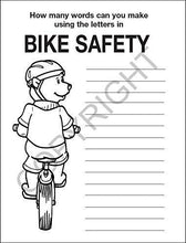 Load image into Gallery viewer, 25 Pack - Practice Bike Safety Kid's Educational Coloring & Activity Books - ZoCo Products