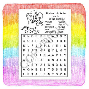 25 Pack - Everyone is Someone Special Kid's Educational Coloring & Activity Books - ZoCo Products