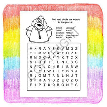 Load image into Gallery viewer, 25 Pack - A Trip to The Urgent Care Center - Kid's Educational Coloring & Activity Books - ZoCo Products