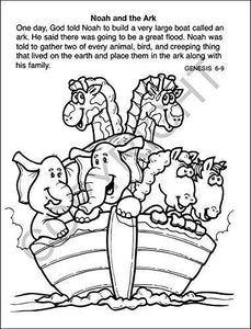 25 Pack - Bible Stories Kid's Educational Coloring & Activity Books - ZoCo Products