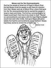 Load image into Gallery viewer, 25 Pack - Bible Stories Kid's Educational Coloring & Activity Books - ZoCo Products