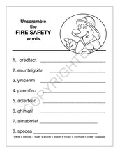 Load image into Gallery viewer, 25 Pack - Practice Fire Safety Kid's Educational Coloring & Activity Books - ZoCo Products