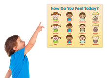 Load image into Gallery viewer, Kids Feelings / Emotions Poster - 17 x 22 in, Laminated