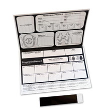 Load image into Gallery viewer, Child ID / Fingerprint Kits (5 Pack) - ZoCo Products
