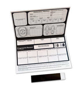 Child ID / Fingerprint Kits (5 Pack) - ZoCo Products