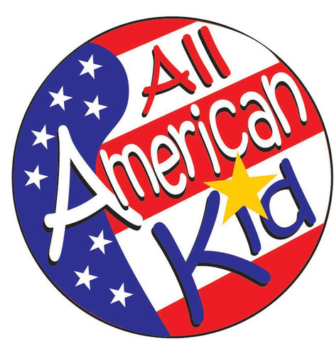 All American Kid Sticker Roll - 400 Stickers - ZoCo Products