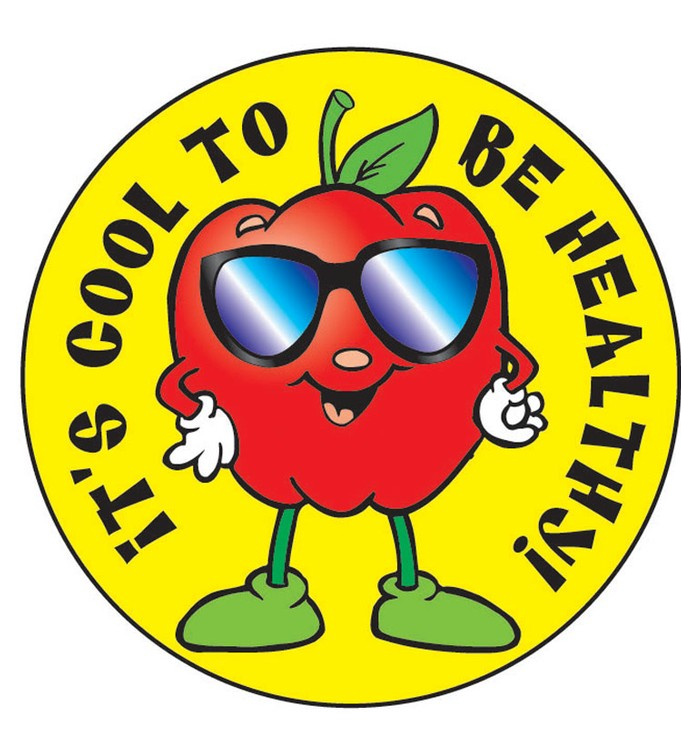 It's Cool to be Healthy! Sticker Roll - 400 Stickers - ZoCo Products