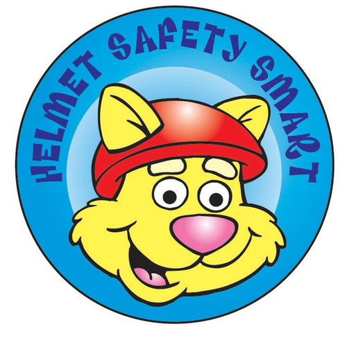 Helmet Safety Smart Sticker Roll - 400 Stickers - ZoCo Products