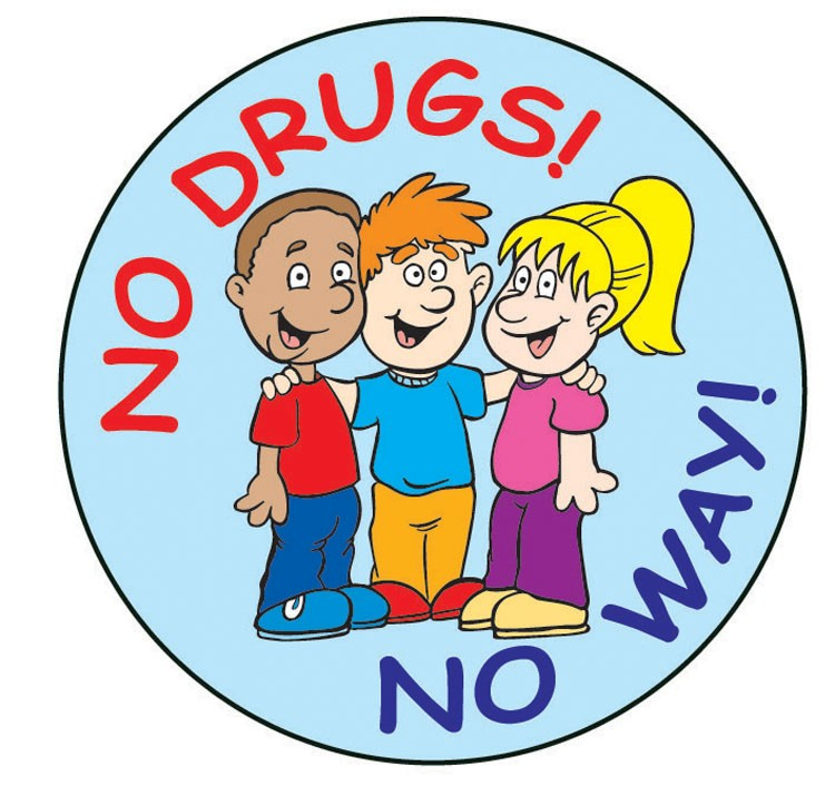 No Drugs! No Way! Sticker Roll - 400 Stickers - ZoCo Products