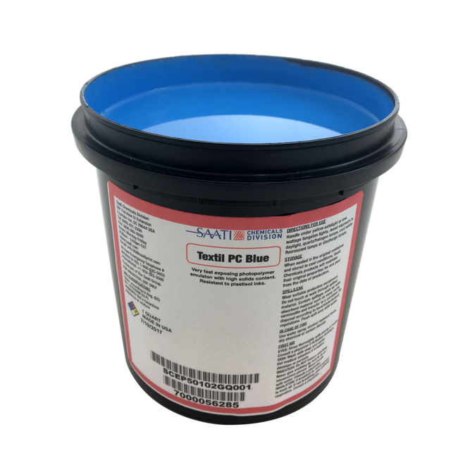 Saati Textil PC Blue Emulsion (1 gal)