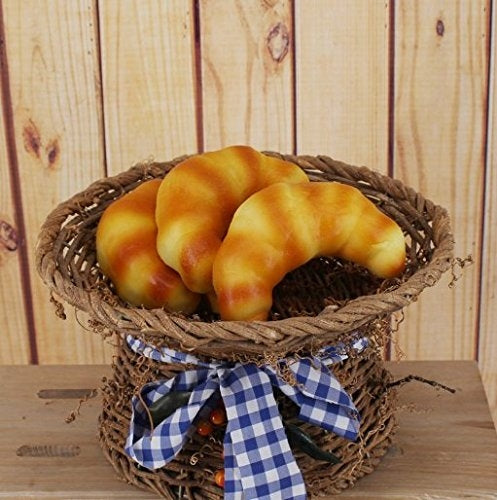 Artificial Bread Platter, 5 Pieces