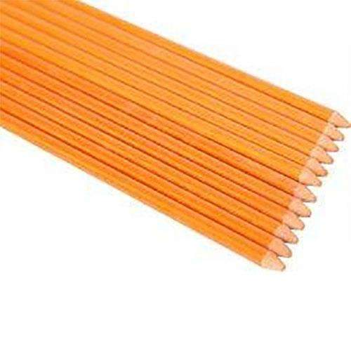 1-Feet 1/4Inch Dia Orange, Ecofriendly Farm Stakes