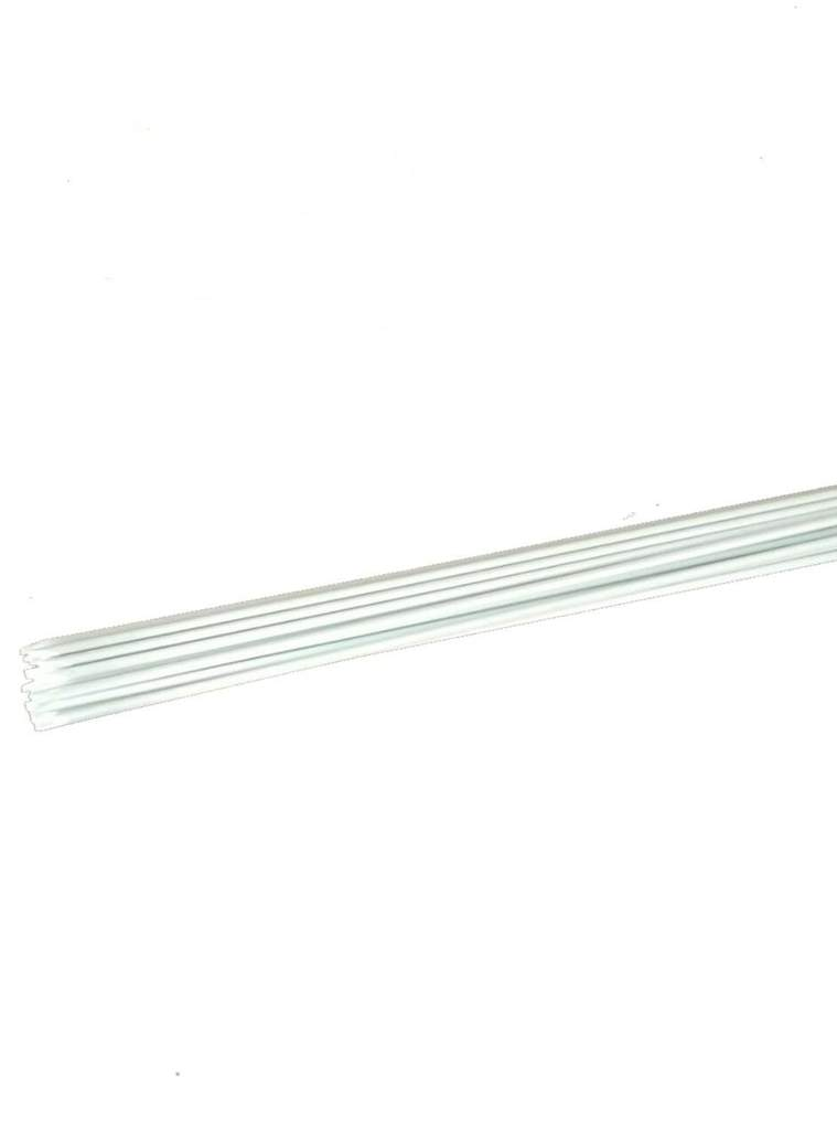 Lightweight 8'' Dia, Ecofriendly Plant Stakes, White
