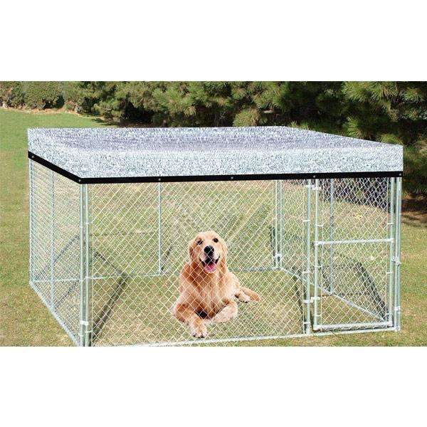 Aluminum Foil Sun Shade Ne, Protective Covers for Dog Cage
