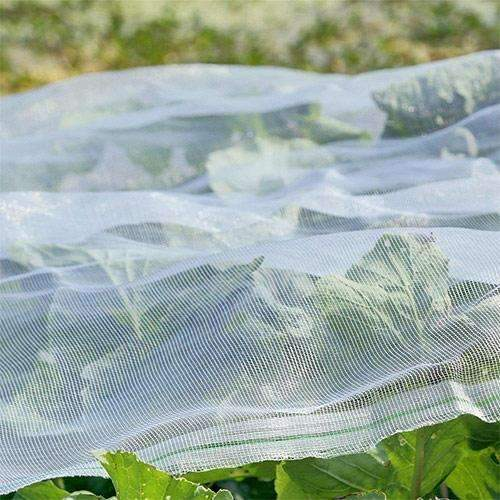 Standard Insect Screen & Garden Netting, White