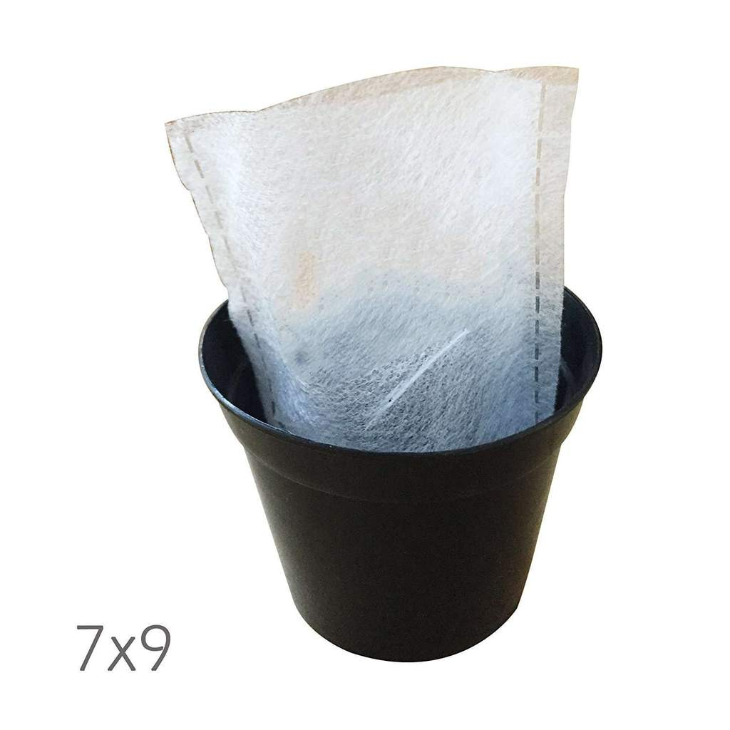 Easy Seedling Bag Planter Grow Bag White, 100pcs
