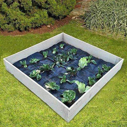 Easy-Plant Weed Block Mulch, 2.9oz, 3'x12' Hole Dia 4''