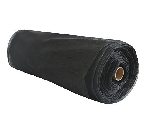 All Porpose Insect Netting in Roll, Black