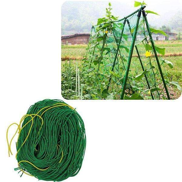 Trellis Netting For Climbing Plants, Green Color